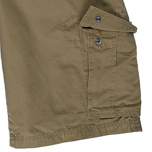 EMS Men's Dockworker Cargo Shorts Kelp Green 40