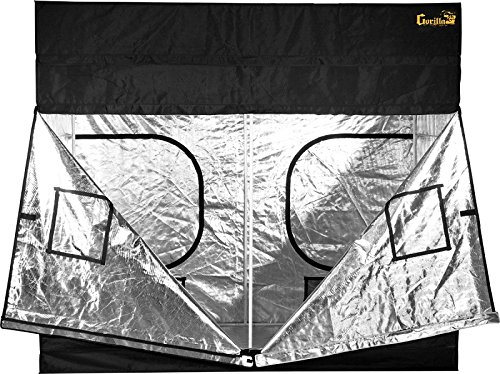 51zWhuilhQL - Gorilla Grow Tent 5 x 9 2018 Model w/Free Extension !