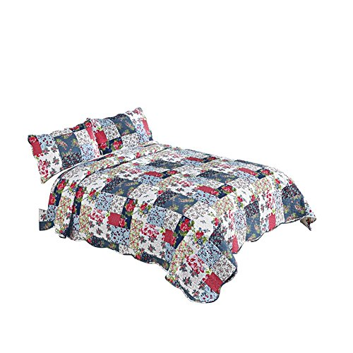 Country Savannah Floral Patchwork Lightweight