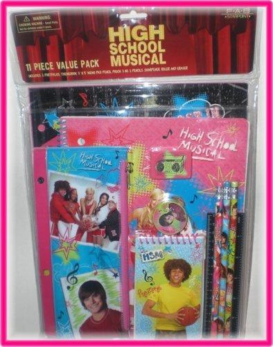 Supply Musical (High School Musical 11 Piece School Supplies Set)