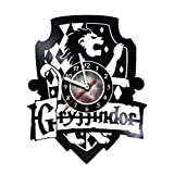 AMARAroom Harry Potter – Gryffindor – Wall Clock Made Of Vinyl Record – Handmade – Unique Design – Incredible Gift Idea For Christmas Birthday Anniversary Women Men Boyfriend Girlfriend Teens Friends Review