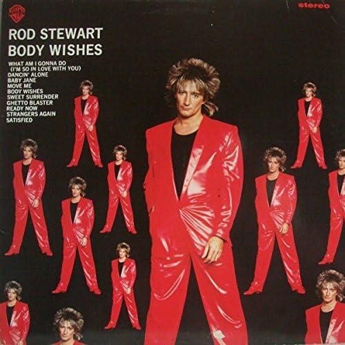 Body Wishes vinyl LP by Rod Stewart