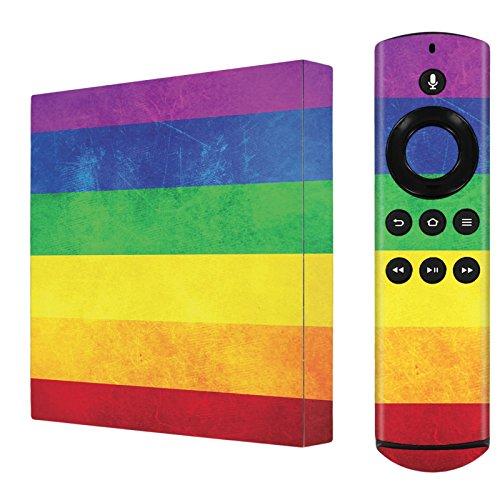 Amazon Fire TV [2nd Gen] 2015 Decal Mania Skin Sticker [Matching Wallpaper] - [Diversity Flag] for Amazon Fire TV [2nd Gen] ()