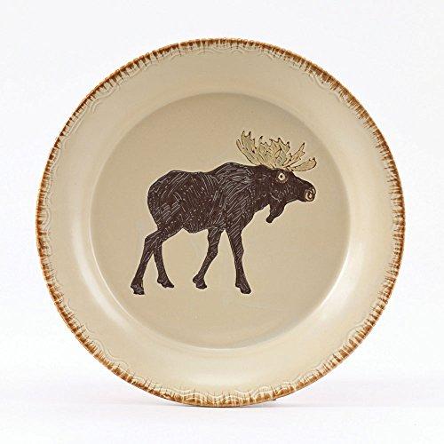 Park Designs Rustic Retreat Moose Salad Plates - set of ()
