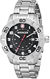 Wenger Men's 0851.102 Roadster Stainless Steel Watch with Link Bracelet