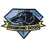 1 X Diamond Dogs Metal Gear Solid Big Boss Snake MGS Iron on Patch