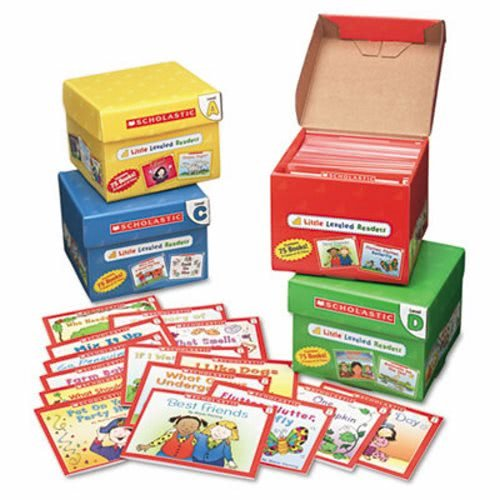 (Scholastic Products - Scholastic - Little Leveled Readers Mini Teaching Guide, 75-Books, 5 Each of 15 Titles - Sold As 1 Pack - Step-by-step, book-by-book program guides children through the early stages of reading. - Little Leveled Readers have been carefully evaluated by a reading specialist to correlate with Guided Reading Levels. - Includes Level A Set, Level B Set, Level C Set and Level D Set. - Inside each set you'll find 75 storybooks (five copies of 15 titles) on topics children lov)