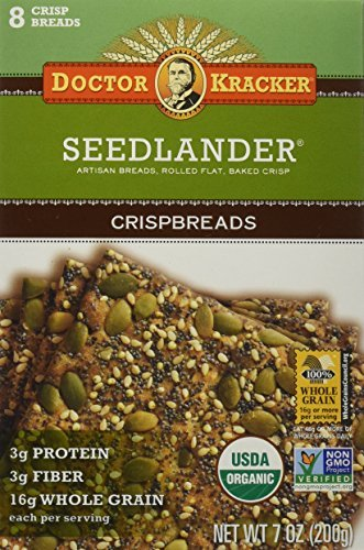 Doctor Kracker Flatbread, Seedlander, 7-ounces (Pack of6) by Doctor Kracker