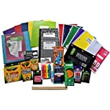 18 Different Items In This School Supply Bundle For 3rd- 4th- 5th Grade Students- Binder,Note Books,Folders,Crayola Crayons And Markers,Pencils,Pens,Highlighter,Glue And More