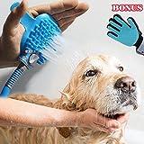 hynepro Pet bathing tool pet shower Sprayer - for dog and cat pet massage Pet Hair Remover Glove pet Suppliest