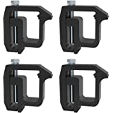 Mounting Clamps Truck Caps Camper Shell Powder-Coated Fit Chevy Silverado Sierra Dodge Dakota Ram 1500 2500 3500,Ford…