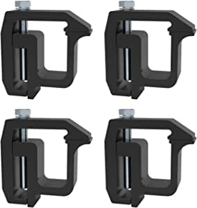 Mounting Clamps Truck Caps Camper Shell for Chevy Silverado Sierra 1500 2500 3500,Dodge Dakota Ram 1500 2500 3500,F150 F250,Titan,Tundra 4 PCS
