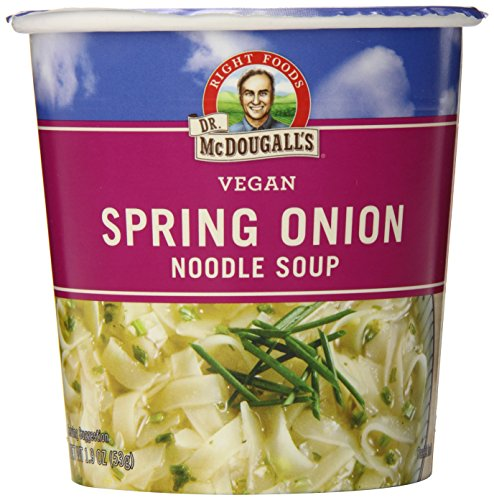 Spring Onion Noodle - Dr. McDougall's Right Foods Vegan Spring Onion Noodle Soup, 1.9-Ounce Cups (Pack of 6)