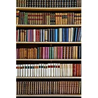 Yelewen 5x7 Feet Library Antique Books Bookshelf School Theme Thin Vinyl Customized Digital Printed Indoor Photography Backdrop Prop Photo Background