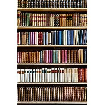 Yelewen 5x7 Feet Library Antique Books Bookshelf School Theme Thin Vinyl Customized Digital Printed Indoor Photography