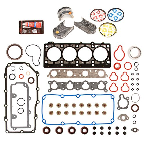 Evergreen Engine Rering Kit FSBRR5021EVE\0\0\0 Fits 96-99 Dodge Plymouth Neon Stratus Breeze 2.0 ECB Full Gasket Set, Standard Size Main Rod Bearings, Standard Size Piston Rings ()