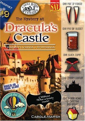 The Mystery at Dracula's Castle (Transylvania, Romania) (9) (Around the World In 80 Mysteries) pdf epub