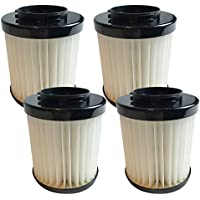 4 Replacements for Dirt Devil Style F22 & F26 Filter, Compatible With Part # 1LV1110000, Washable & Reusable, by Think Crucial