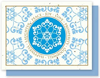 product image for Grow A Note® Holiday Snowflake Wishes Card 4-Pack