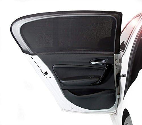 NEPCT Auto-Sonnenschutzmittel Autofenster Vorhänge Universal Easy Fit mit atmungsaktivem Mesh Car Sonnenschutz für Kinder Auto-Fenster-Schatten