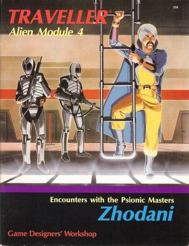 Zhodani (Traveller Alien Module 4) (Traveller Alien Module compare prices)