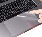 (2 Pack) Clear Anti-Scratch Trackpad Touchpad Touch Panel Protector Cover Skin for Newest MacBook Pro 15 Inch A1707 A1990 Touch Bar and Touch ID Version (Released 2016/2017/2018)