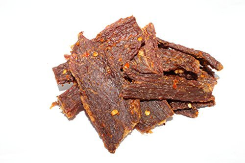 People's Choice Beef Jerky - Old Fashioned - Hot & Spicy - Sugar-Free, Carb-Free, Keto-Friendly - 2.5 Ounce, 1 Bag (Pack of 3)
