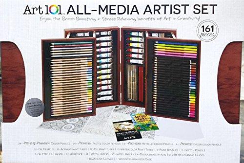 ART 101/ ALL-MEDIA ARTIST SET/161 PCS