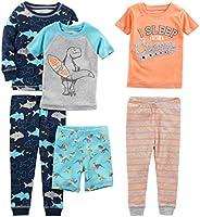 Simple Joys by Carter's Baby-Boys 6-Piece Snug Fit Cotton Pajama