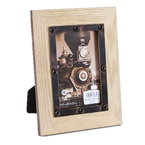 - Burnes of Boston® Natural Bolted Wood Frame