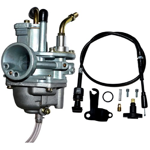 ZOOM ZOOM PARTS CARBURETOR FOR POLARIS SCRAMBLER 50 MANUAL CHOKE CABLE 2001 2002 2003 WITH FREE CABLE NEW