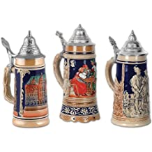 Beistle 55514 3-Pack Beer Stein Cutouts, 18-Inch