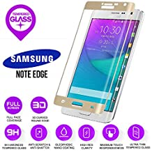 BisLinks® 100% Genuine Gold Tempered Curved Glass Screen Protector Samsung Note Edge N915