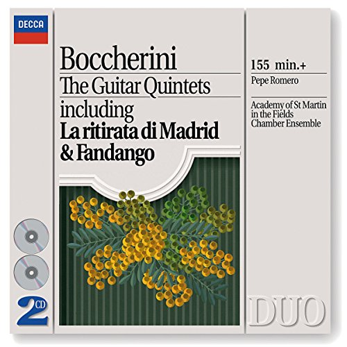 Boccherini: The Guitar Quintets (Asmf Chamber Ensemble)