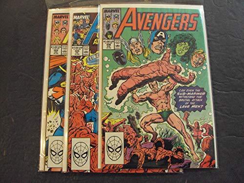 3 Iss Avengers #304-306 Jun-Aug