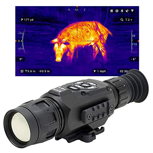 theOpticGuru ATN Thor-HD 384x288, 4.5-18x Thermal Scope with HD Video rec, Smooth Zoom, Bluetooth...