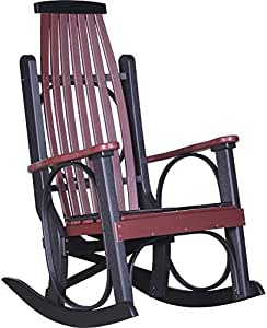 LuxCraft Grandpa's Recycled Plastic Rocking Chair