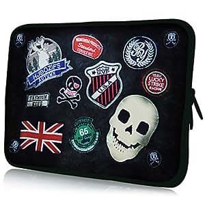 "good Skull Pattern 7""/10""/13"" Laptop Sleeve Case for MacBook Air Pro/Ipad Mini/Galaxy Tab2/Sony/Google Nexus 18072 , 13"""