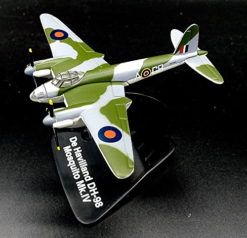 Twin Mosquito Engine (FloZ de Havilland DH 98 Mosquito British Medium Bomber 1:144 diecast Aircraft WW2 plane Model)