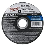 Milwaukee 10 Pack - 4 1 2 Cutting Wheels For