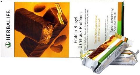 HERBALIFE Barritas con proteinas - Vainilla y almendras - 14 ...