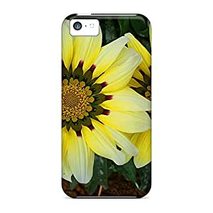 Back Cases Covers For Iphone 5c - Twin Flowers