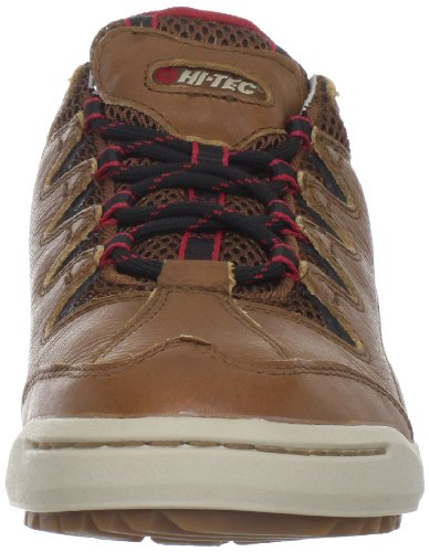 Hi-tec Hombres Sierra Sneaker Zapatillas De Moda Tan / Rojo