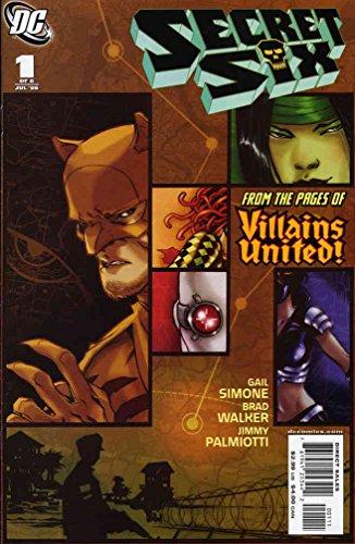 Secret Six (2nd Series) #1 VF/NM ; DC comic - Walker Simone