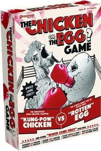 Pressman Toys Chicken or The Egg Game (4 Player) [並行輸入品] B07QZZYHD5