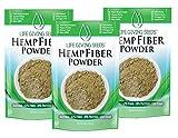 USA Hemp Protein High Fiber Powder 16oz | Plant Based | Superfood | non GMO | 3-PK