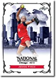 JENNIE FINCH 2013 LEAF OLYMPICS U.S.A. SOFTBALL NATIONAL CONVENTION PROMO CARD!