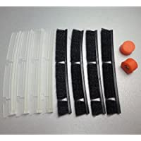 Neato XV Combo Brush Replacement Brushes For The Pet Allergy Brush Bars, Blades and Bearings XV11 XV21 XV14