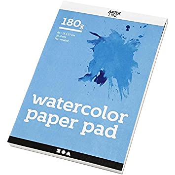 Creativ Company Aquarellblock A5 15x21 Cm Wei 20 Blatt Amazon