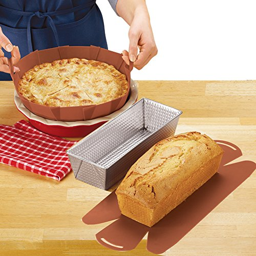 (Reusable Baking Pan Silicone Liners - Set of 2)